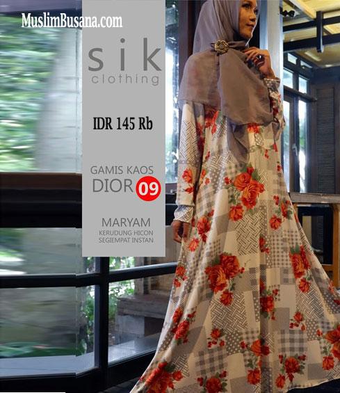 Sik Dior 09 Gamis Dewasa