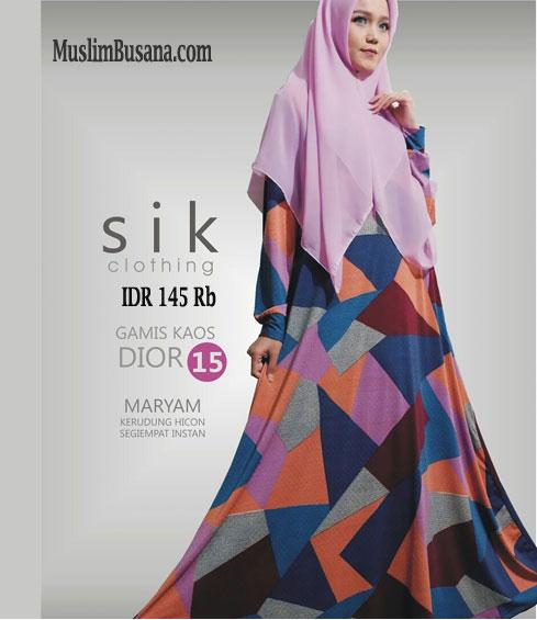 SIK Dior 15 - SIK Clothing Gamis Gamis Dewasa