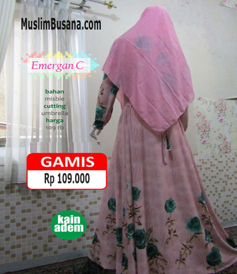 Emergan C Salem - SIK Clothing Gamis Gamis Dewasa