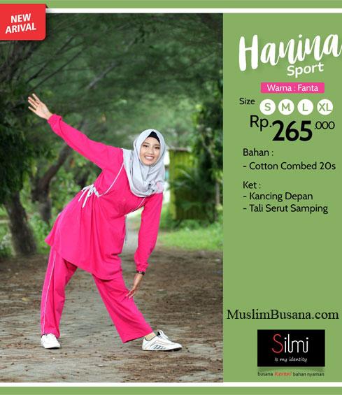 Silmi Hanina Pink