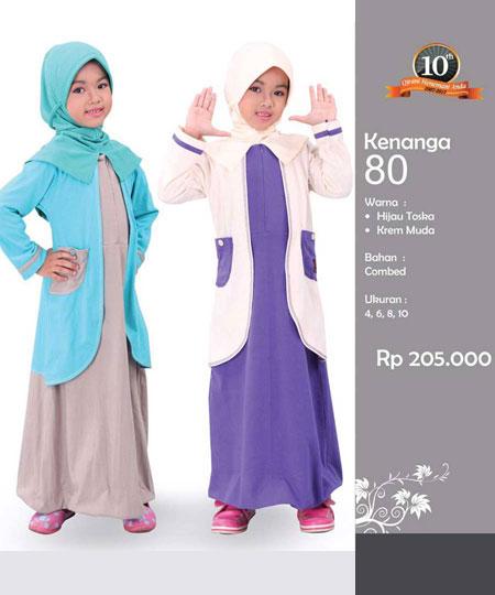 Qirani Kids Kenanga 80 - Qirani Baju Anak Gamis Anak