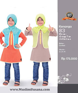 Qirani Kids Kenanga 83 Gamis Anak