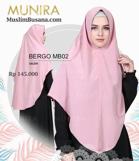 Munira Bergo MB 02 Salem - Munira Jilbab Dewasa