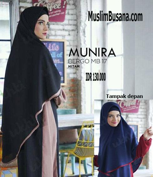 Munira MB 17 Hitam - Munira Bergo