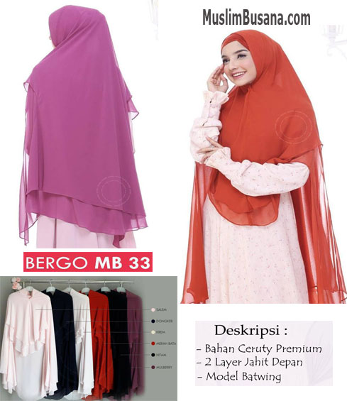 Munira MB 33 Bergo