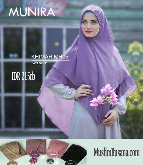 Munira MH 05 Lavender Jilbab Dewasa