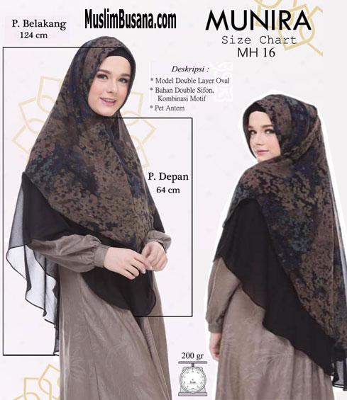 Munira MH 16 Jilbab Dewasa