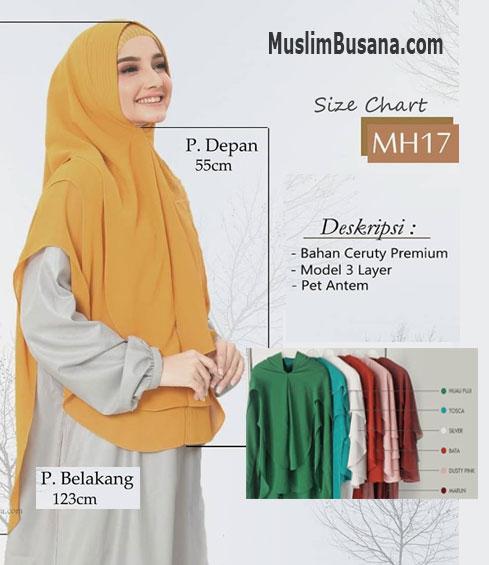 Munira MH 17 Bergo