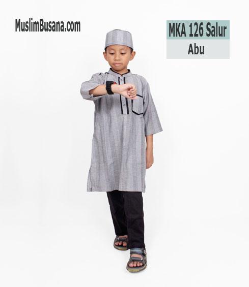 Fatih Firra MKA 126 Salur Abu - Fatih Fira Koko Koko Anak & Remaja