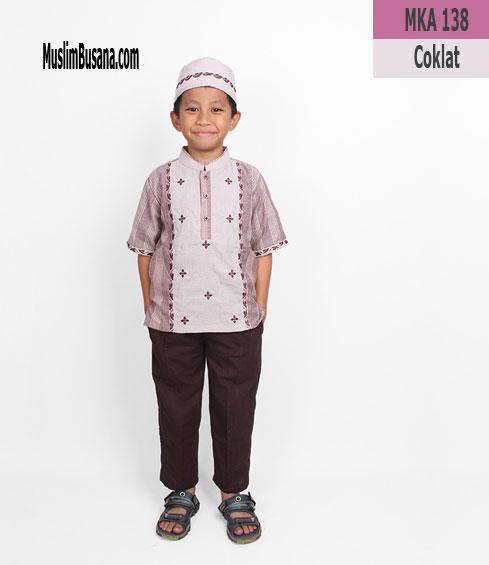 Fatih Firra MKA 138 Coklat Koko Anak & Remaja