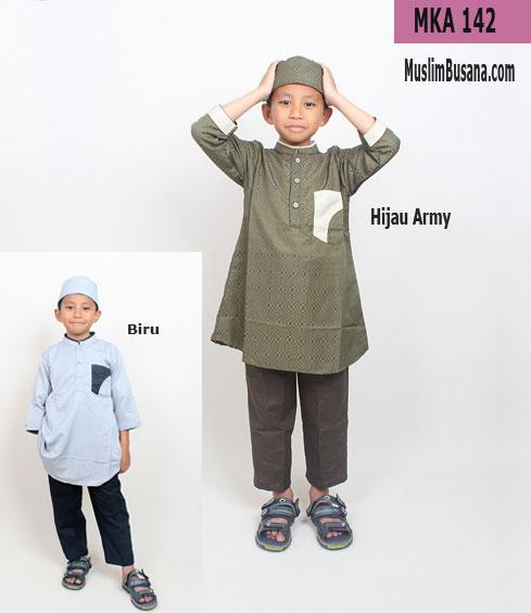 Fatih Firra MKA 142 Hijau Army Koko Anak & Remaja
