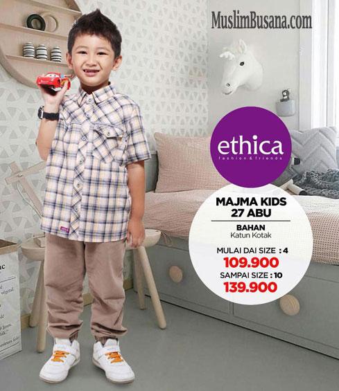 Ethica Majma Kids 27 Abu - Ethica Koko Setelan Anak