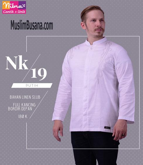 Nibras NK 19 Putih - Nibras Koko Koko Dewasa