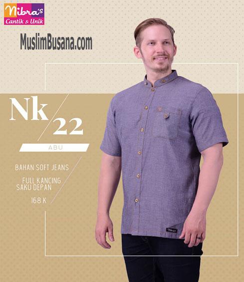 Nibras NK 22 Abu - Nibras Koko Koko Dewasa