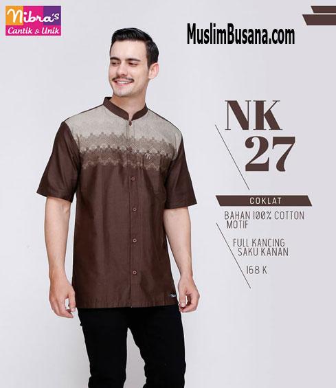 Nibras NK 27 Coklat - Nibras Koko Koko Dewasa