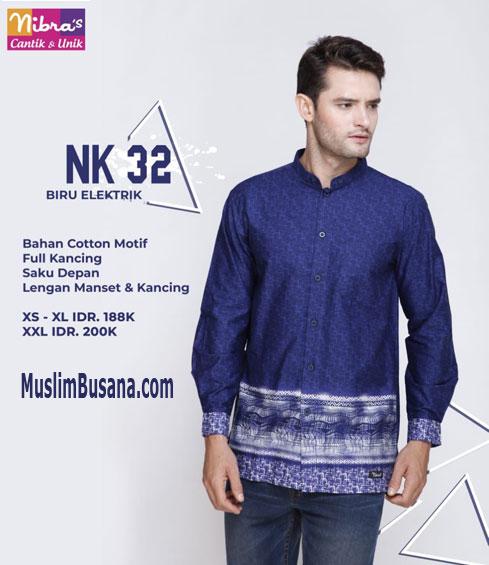 Nibras NK 32 Biru Electrik Koko Dewasa