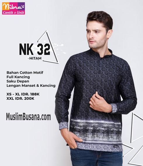 Nibras NK 32 Hitam Koko Dewasa