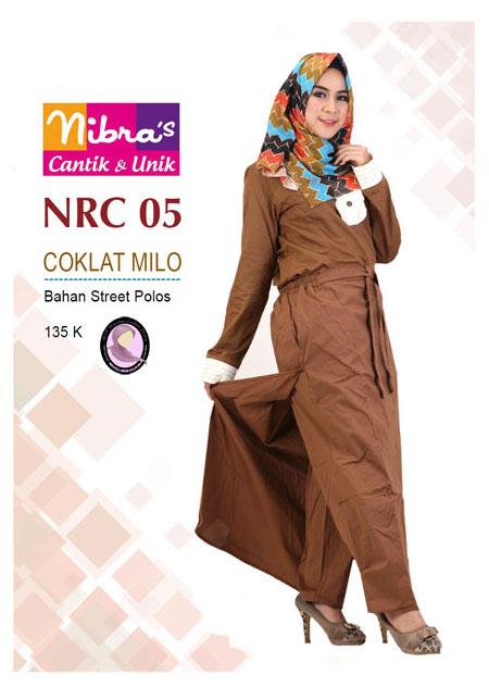 Nibras NRC 05 Coklat Milo - Nibras Rok Rok Dewasa