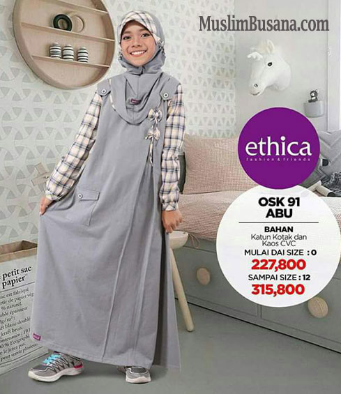 Ethica OSK 91 - Ethica Kids Gamis Anak