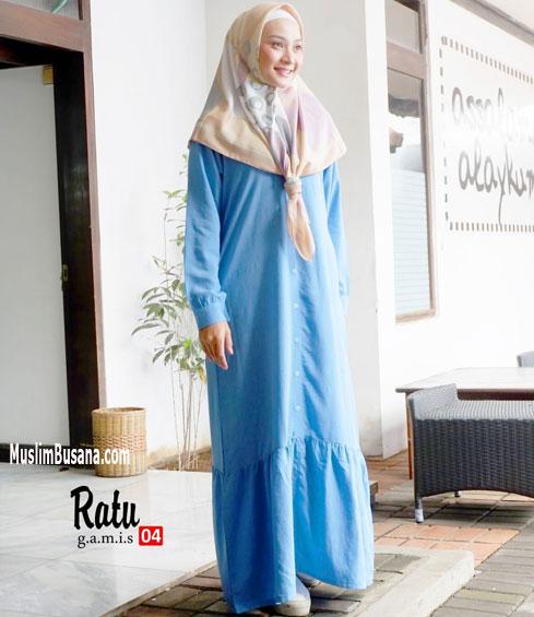 Ratu 04 - SIK Clothing Gamis Gamis Dewasa