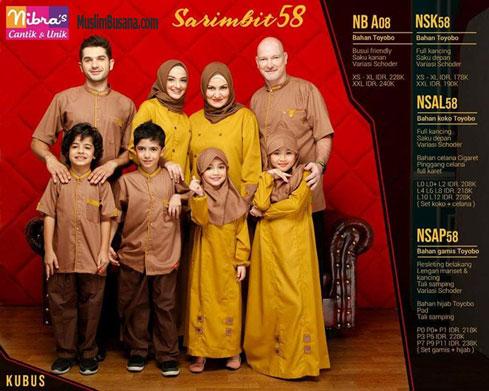 Nibras Sarimbit 58 Sarimbit