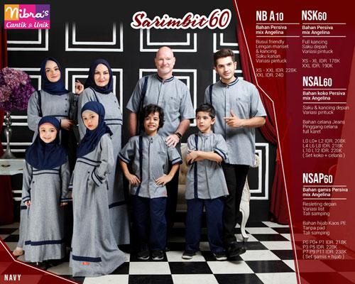 Nibras Sarimbit 60 Navy