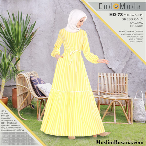 Endomoda Gamis Home Dress HD 73 Gamis Dewasa