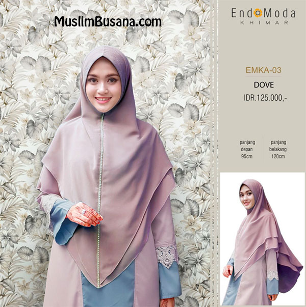 Endomoda Khimar EMKA 03 Dove