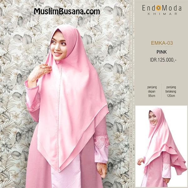 Endomoda Khimar EMKA 03 Pink