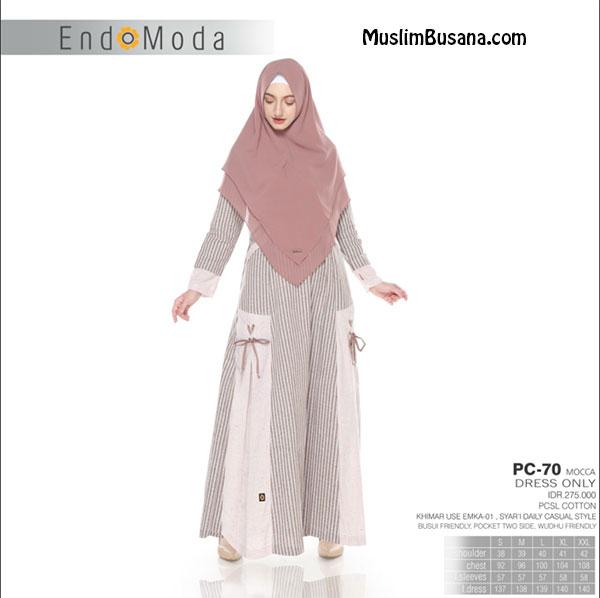 Endomoda Gamis PC 70 Mocca Gamis Dewasa