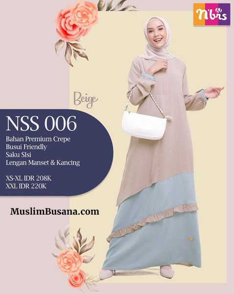 Nibras Gamis NSS 006