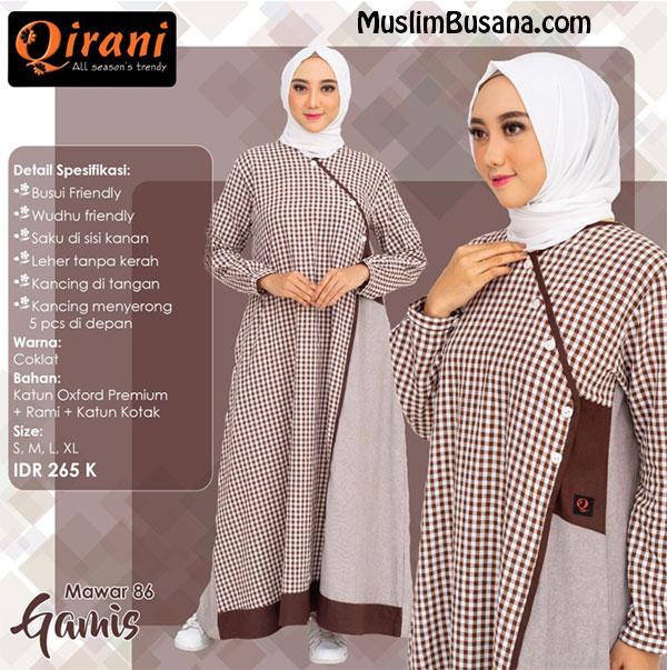 Qirani Gamis Mawar 86