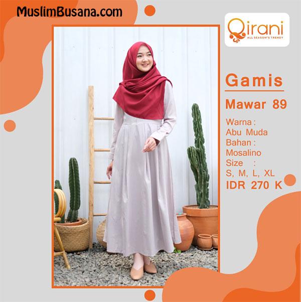 Qirani Gamis Mawar 89