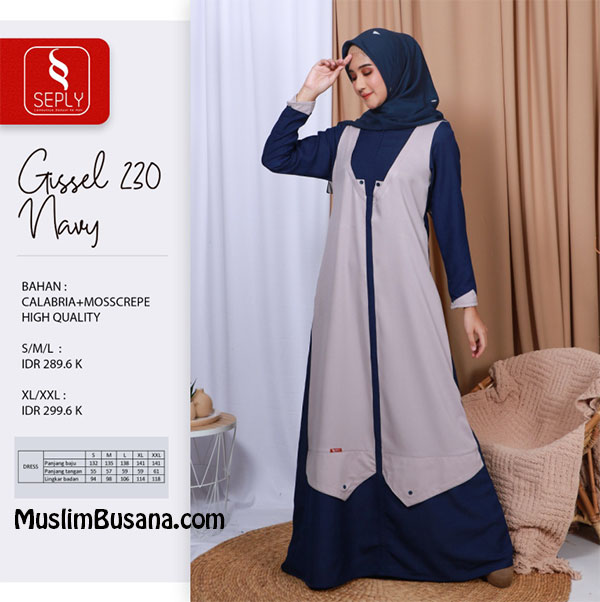 Seply Gissel 230 by Ethica Gamis Dewasa
