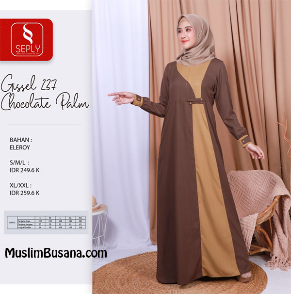 Seply Gissel 237 by Ethica - Ethica Gamis Gamis Dewasa
