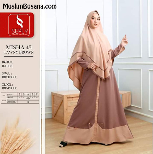 Seply Misha 43 by Ethica - Ethica Gamis Gamis Dewasa