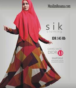 Sik Dior 13 Gamis Dewasa