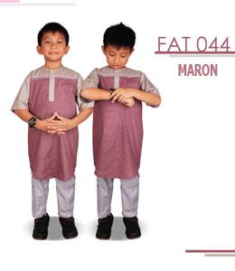 Fatih Firra FAT 44 Maron Setelan Anak