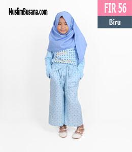 Fatih Firra FIR 56 Biru Gamis Anak