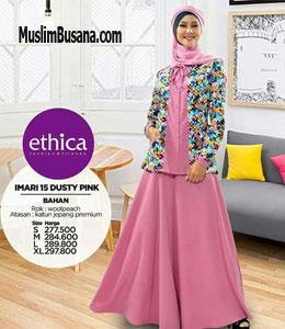 Ethica Imari 15 Dusty Pink Setelan Dewasa