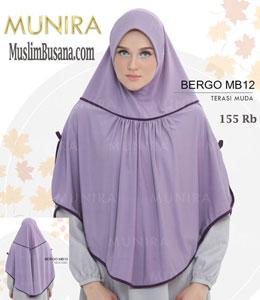 Munira MB 12 Terasi Muda Jilbab Segi Empat