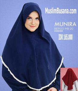 Munira MB 20 Bidonk Jilbab Segi Empat