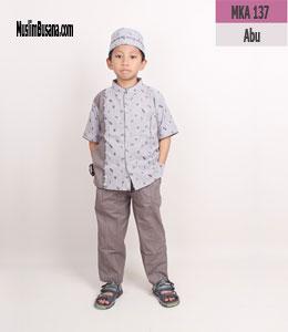 Fatih Firra MKA 137 Abu Setelan Anak