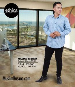 Ethica Majma 48 Biru Koko Dewasa