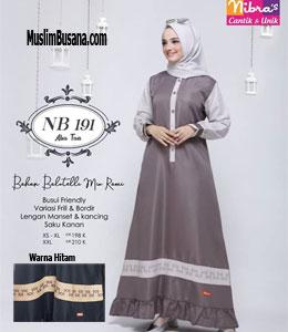 Nibras NB 191 Gamis Dewasa