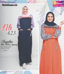 Baju Gamis Nibras Terbaru 2020 Jualan Online Lazada