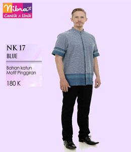 Nibras NK 17 Blue Koko Dewasa
