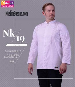 Nibras NK 19 Putih Koko Dewasa