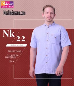 Nibras NK 22 Biru Muda Koko Dewasa