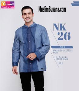 Nibras NK 26 Biru Koko Dewasa